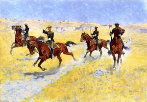 Frederic Remington - The Advance