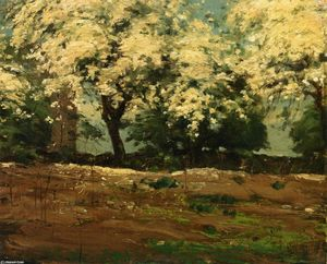 Frederick Childe Hassam - flores