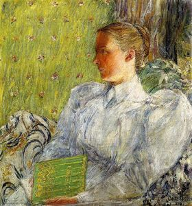 Frederick Childe Hassam - Edith Blaney (Sra Dwight Blaney)