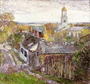 Frederick Childe Hassam - Quincy, Massachusetts