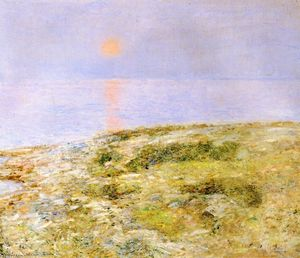 Frederick Childe Hassam - Do-sol, Ilha de Shoals