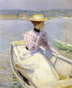 Frederick Childe Hassam - The White Dory