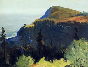 George Wesley Bellows - colina e vale
