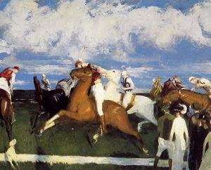 George Wesley Bellows - Jogo do polo