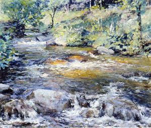 Robert Lewis Reid - O Brook