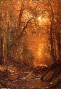 Thomas Worthington Whittredge - A Catskill Brook 1