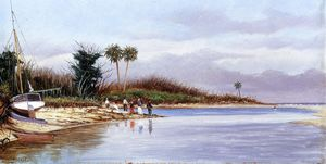 William Aiken Walker - The Cove at Ponce Parque