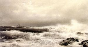 William Trost Richards - a tempestade