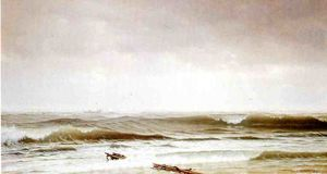William Trost Richards - Ao longo da costa