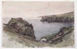 William Trost Richards - Cornualha