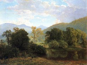 William Trost Richards - Deleware Vale