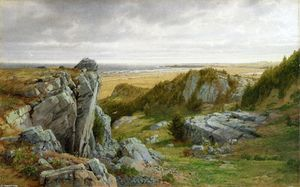 William Trost Richards - Perto Parsdise, Newport