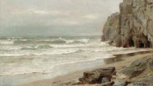 William Trost Richards - à novo inglaterra costa