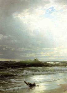 William Trost Richards - Na costa 1