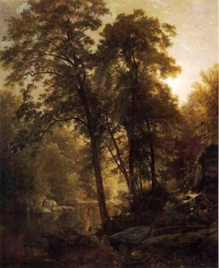 William Trost Richards - No Wissahickon