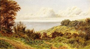 William Trost Richards - Com vista para a costa