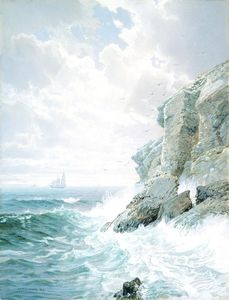 William Trost Richards - Purgatório Cliff