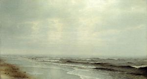 William Trost Richards - Vista do mar