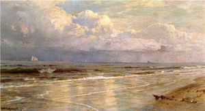 William Trost Richards - paisagem marítima
