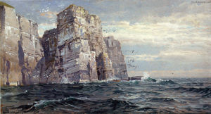 William Trost Richards - Os pássaros Stacks