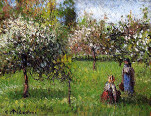 Camille Pissarro - A Apple Blossoms, Eragny