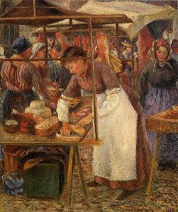 Camille Pissarro - The Butcher Pork