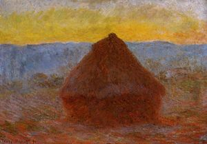 Claude Monet - Grainstack 1