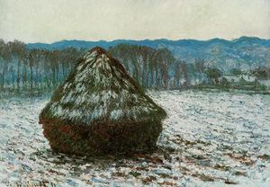 Claude Monet - Grainstack
