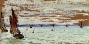 Claude Monet - aberto mar