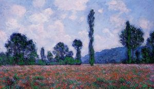 Claude Monet - Papoula agro Giverny