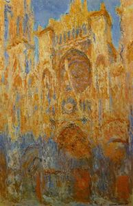 Claude Monet - catedral de rouen 1