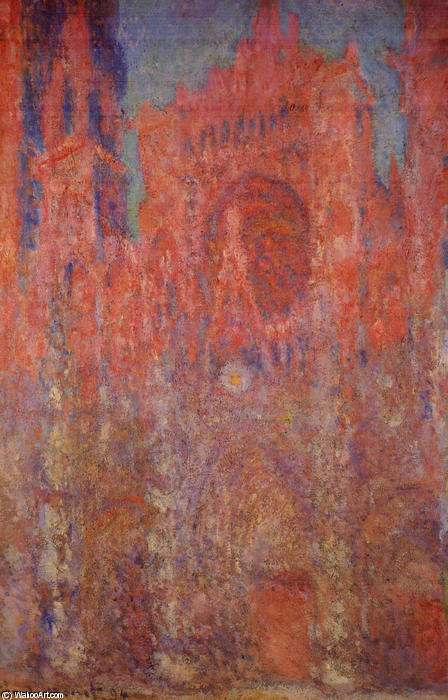 catedral de rouen, 1894 por Claude Monet (1840-1926, France)
