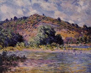 Claude Monet - Os bancos do Seine no Porto-Villez