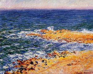 Claude Monet - O mar em Antibes