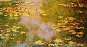 Claude Monet - O Water-Lily Lagoa 9