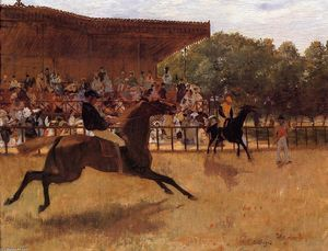 Edgar Degas - O False Start