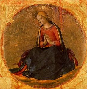 Fra Angelico - Virgen de la Anunciacion