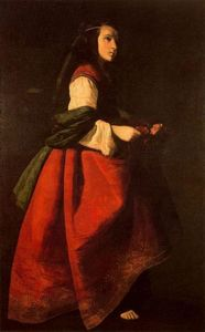 Francisco Zurbaran - Sainte Casilde