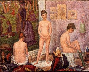 Georges Pierre Seurat - Os Modelos