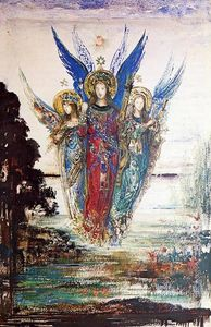 Gustave Moreau - Vozes do Evening