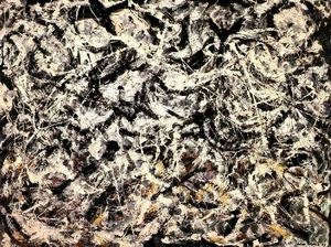 Jackson Pollock - Grayed do arco-íris