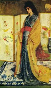 James Abbott Mcneill Whistler - La Princesse du paga de la porcelaine