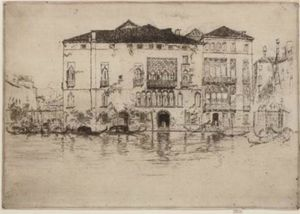 James Abbott Mcneill Whistler - o palácios