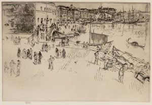 James Abbott Mcneill Whistler - O Riva I