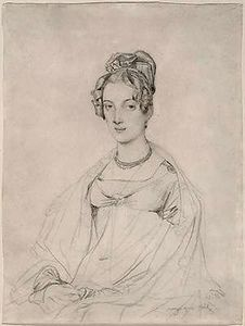 Jean Auguste Dominique Ingres - Mrs. Edward Dodwell