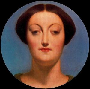 Jean Auguste Dominique Ingres - Retrato de madame graudry