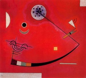 Wassily Kandinsky - tension` no canto