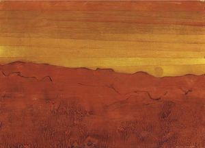 Max Ernst - Arizona rouge