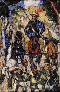 Paul Cezanne - Don Quixote, visto de frente