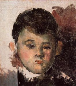 Paul Cezanne - Retrato do filho do artista inacabado